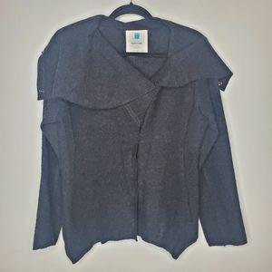 Anthropologie Sparrow 100% wool sweater Dark Gray